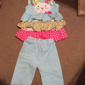 Cute Rare Editions 3T bunny outfit